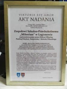 certyfikat Przyjaciel Niepełnosprawnych